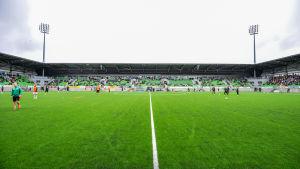 Vasas nya fotbollstadion.