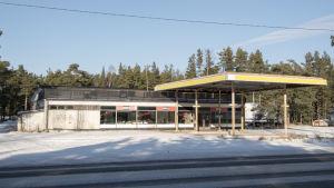 Roadside restarunga byggnad i Hangö