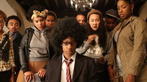 Pressbild för tv-serie Dear white people