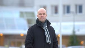 Kim Berg, huvudförtroendeman för Tehy på centralsjukhuset i Vasa.