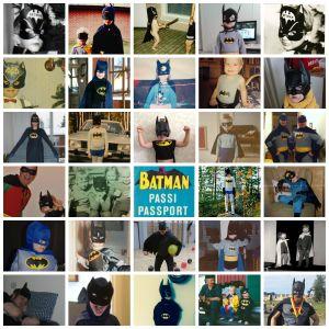 Batman-kuvakeräyksen satoa.