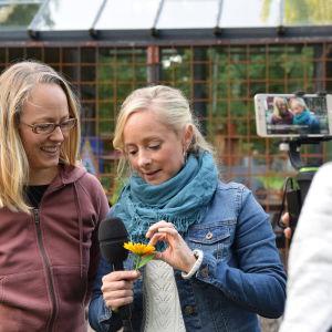 Alexandra De Paoli och Elin Skagersten-Ström