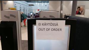 Helsingfors datatrafik tog stryk på onsdag när en datakabel kapades.