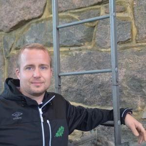 Jens Mattfolk i Sportmåndag 19.10.2015