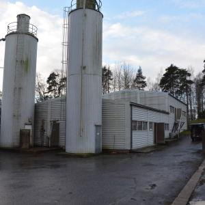 Reningsverket på Skeppsholmen i Ekenäs