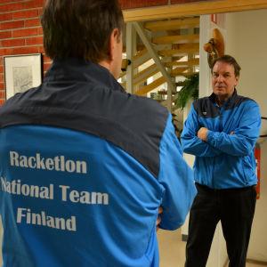 Sten Lindström i Sportmåndag 14.12.2015.