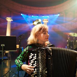 Maria Kalaniemi ohjelmassa Melkein unplugged