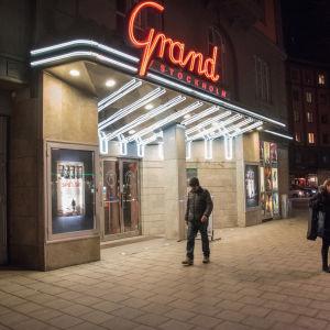 En vy från biografen Grand på Sveavägen i Stockholm.