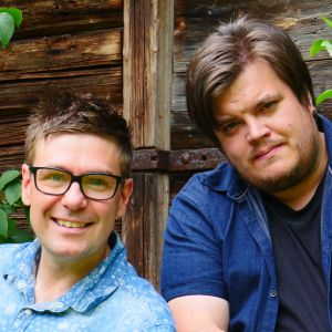 Thomas Lundin och Thomas Enroth.