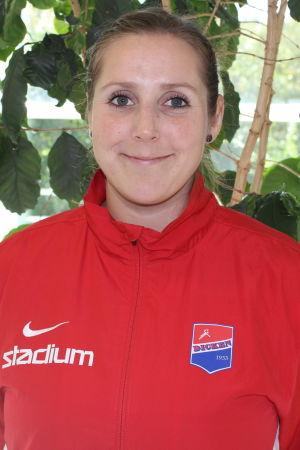 Sonja Koskinen på pressinfo 2016.