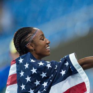 OS-ettan Brianna Rollins får inte delta i sommarens VM.
