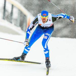 Matias Strandvall i Lahtisterrängen 2016.