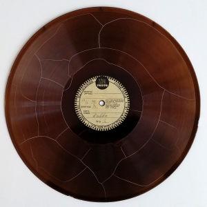 Kukko-äänilevy joka on päivätty 17.3.1949