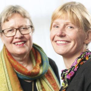Ann-Sophie Sandström och Tiina Grönroos