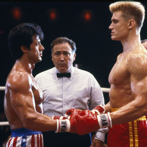 Rocky mot Ivan Drago i filmen Rocky IV.
