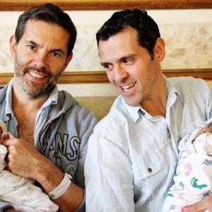 Isäksi syntyneet: Jérôme ja François.