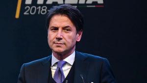 Den italienska premiärministerkandidaten Giuseppe Conte