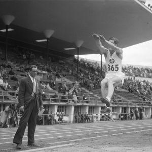 Längdhopp, OS 1952.