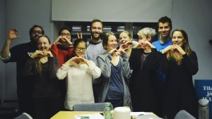 sista mötet inför klimatmarschen 2015