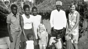Kaisa Halme matkusti perheineen lähetystyöhön Angolaan.
