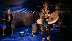 Foto från föreställningen Baikal Brothers.