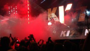 Kiss i Helsingforsarenan 4.5.2017.