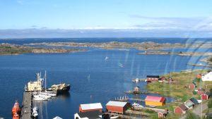 Utsikt från Utö fyr