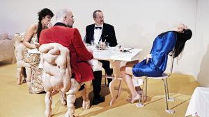 Foto från Peggy Pickit ser Guds ansikte på Svenska Teatern.