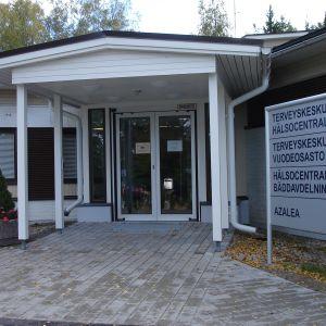 Ingången till Sjundeå hvc.