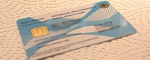 Ett estniskt ID-kort för e-invånare