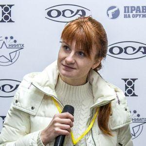 Maria Butina, misstänkt rysk spion.
