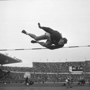 Höjdhopp, OS 1952.