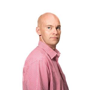 Redaktören Johnny Sjöblom.