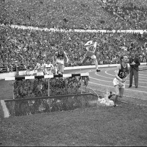 3000 meter hinder, OS 1952.