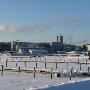 vetonitfabriken i Pargas.