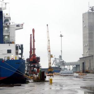 fartyg i Lovisa hamn