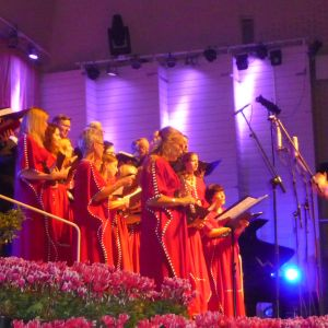 Sören Hakola dirigerade Aurorakören