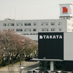 Takatas fabrik i Aisho i mellersta Japan i april 2016.