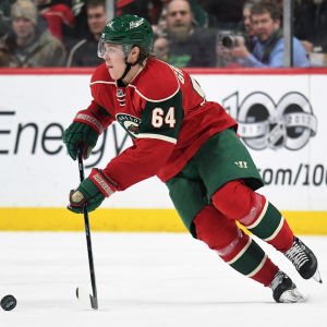Mikael Granlund under en NHL-match.