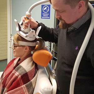Sini Hämäläinen och Aleksi Sihvonen
