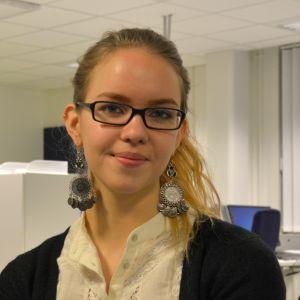 Ida-Maria Skytte, ordförande för Svensk Ungdom i Österbotten.