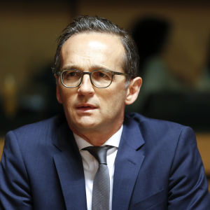 Tysklands justitieminister Heiko Maas