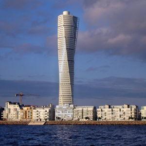 Nordens högsta skyskrapa Turning Torso