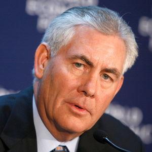Exxons vd Rex Tillerson.
