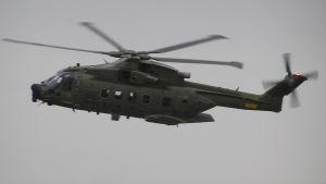 Helikopter ur Danska flygvapnet - AW101.