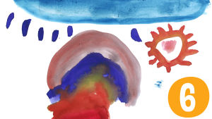 Pikku Kakkonen: Postimerkkikilpailun piirros nro 6