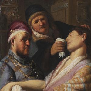 Målningen Ruiken av Rembrandt