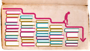 Kirjamyynti laskee kolmatta vuotta peräkkäin.