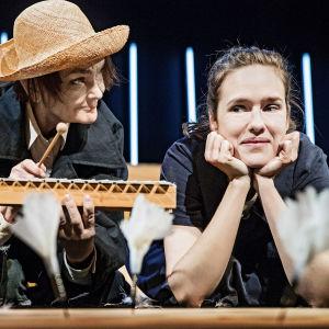 Foto från Sommarboken på Lilla Teatern.