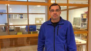 Kenneth Holmberg, rektor för Näse skola